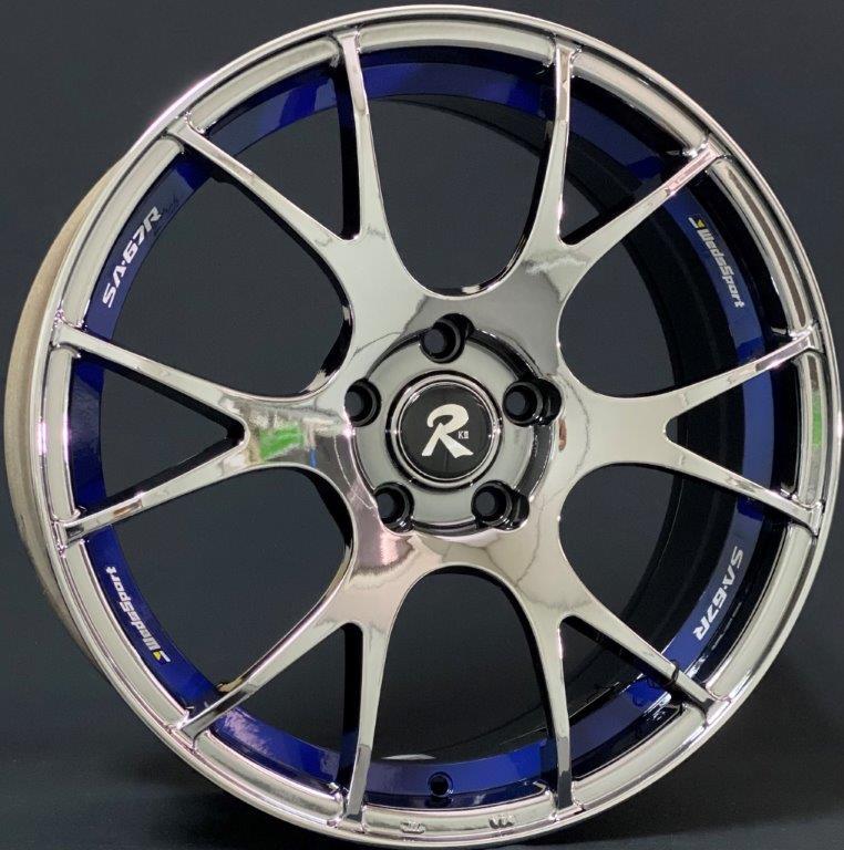 K Ii K2 Alloy Wheel Sport Rim Tyre F1 Honda Toyota Nissan